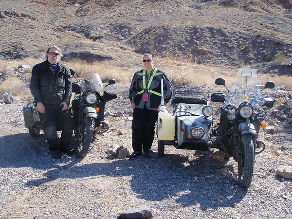 Ural-a-ling in Death valley 2010