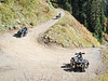 Ural riding near Mt. Baker, Oct 1st. 2010 : A small group of Nor-Wet Uralistas gather to ride near Mt Baker in Washington State.