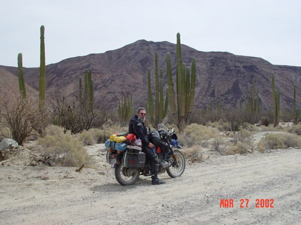 Riding the R80G/S, through Baja